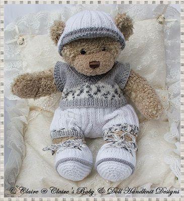 Slipover And Shorts Set 16 Teddy Bearbunny Teddy Knitting Pattern