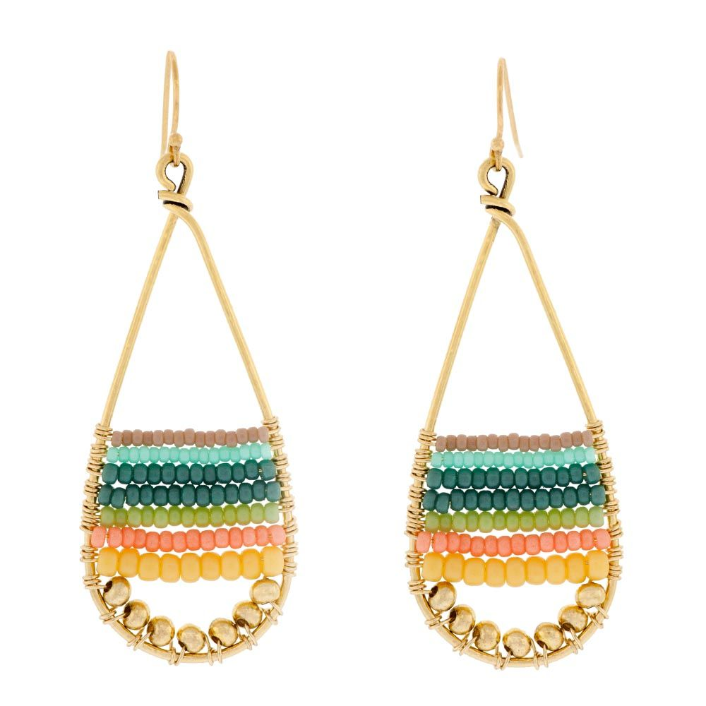 Summer Fun Earrings Inspiration Project | Summer fun, Fusion beads ...