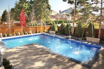 L-Shaped Pool - contemporary - pool - toronto - AquaSpa Pools ...