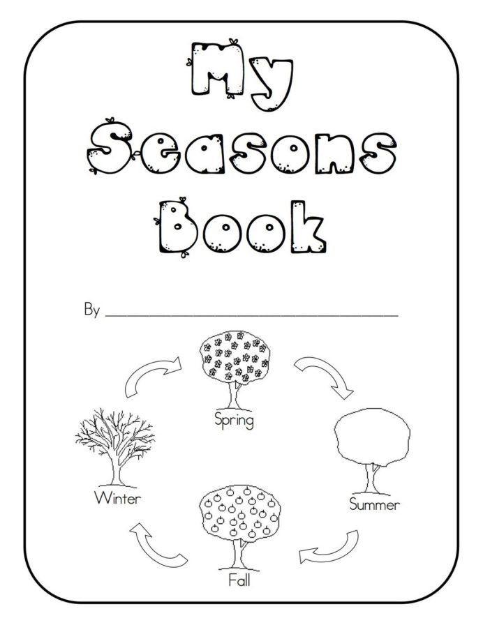 Seasons Worksheets For Kindergarten Seasons Kindergarten Books Lines Worksheets For Math Is Fun In 2020 Kindergarten Science Seasons Kindergarten Kindergarten Books