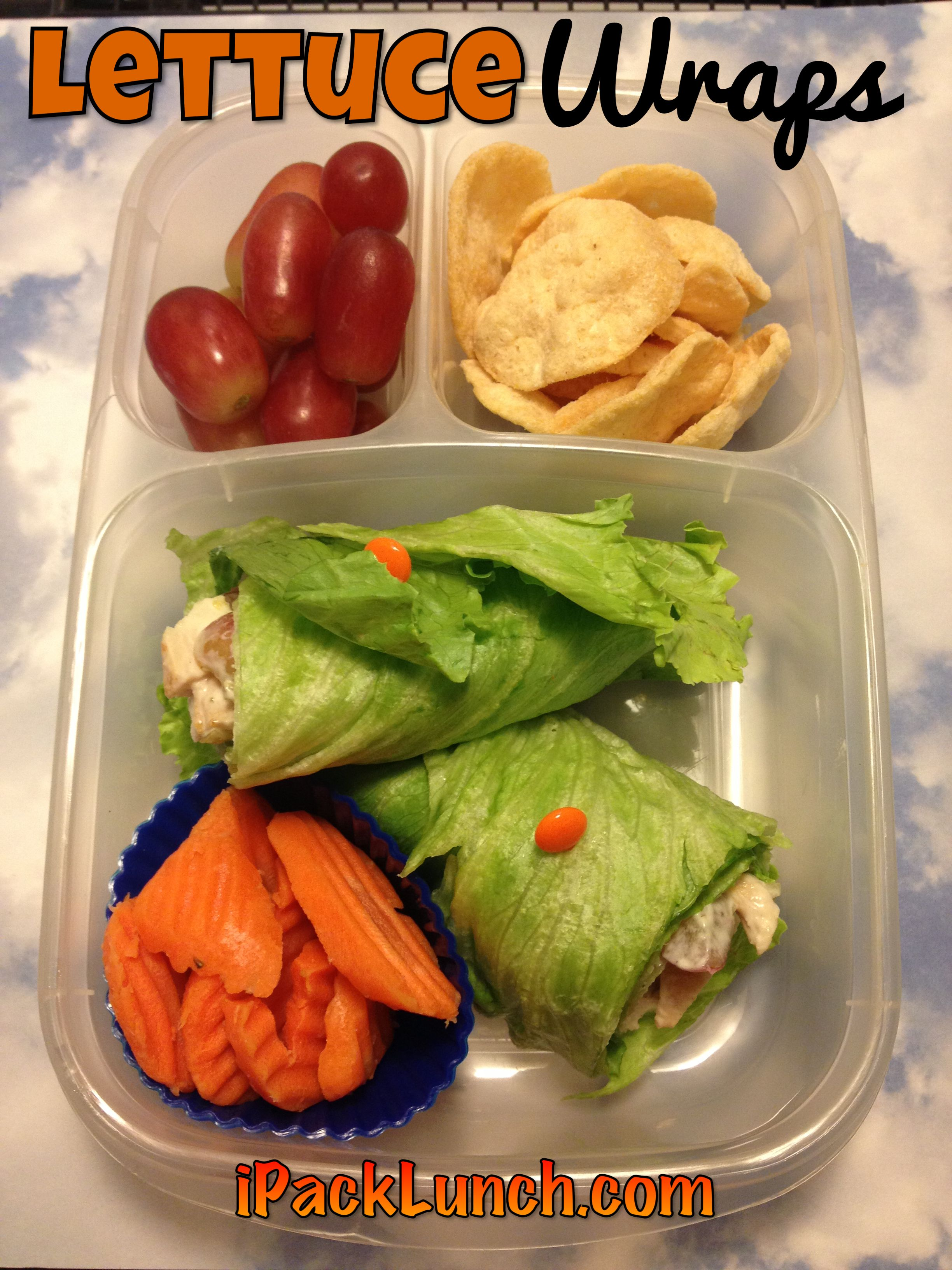 Gluten free lunch idea lettuce wraps additudemag