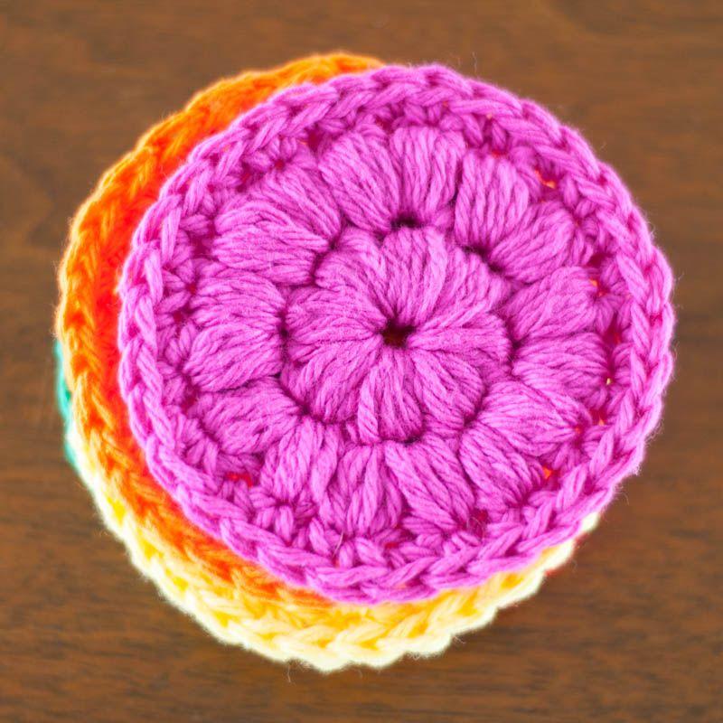 Crochet Face Scrubbies | Ideas de regalo, Regalitos y Accesorios