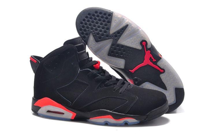 classic fit 6c6e5 92d3c Nike Size 14 15 16 Air Jordan 6 Rojo Zapatillas De Baloncesto Negro, EUR  €87.77   www.zapatos-online-baratos.com