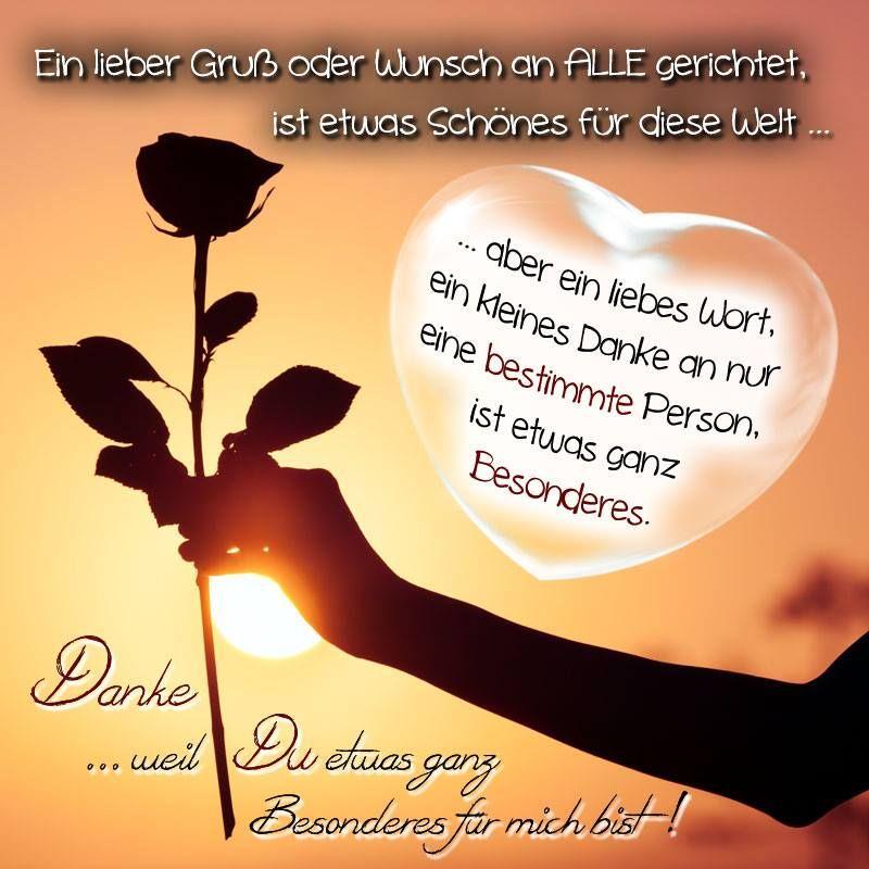 nur für DICH ! | Liebevolle gedanken, Sprüche für die ...