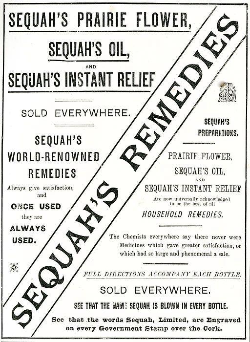 Sequah's Remedies