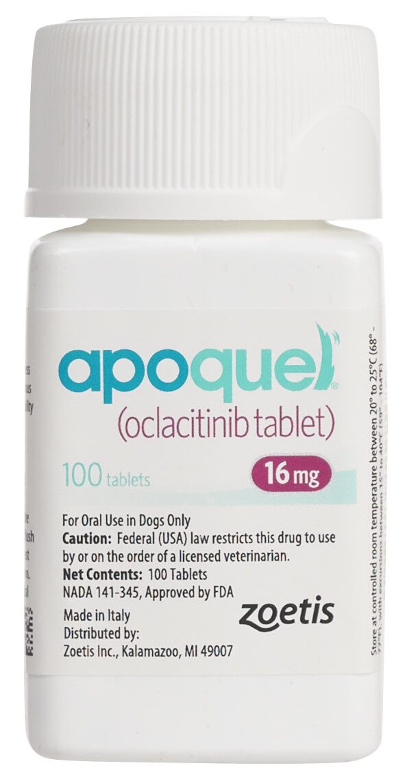 Apoquel for Dogs 3.6 mg 30 ct Dogs, Allergy medicine