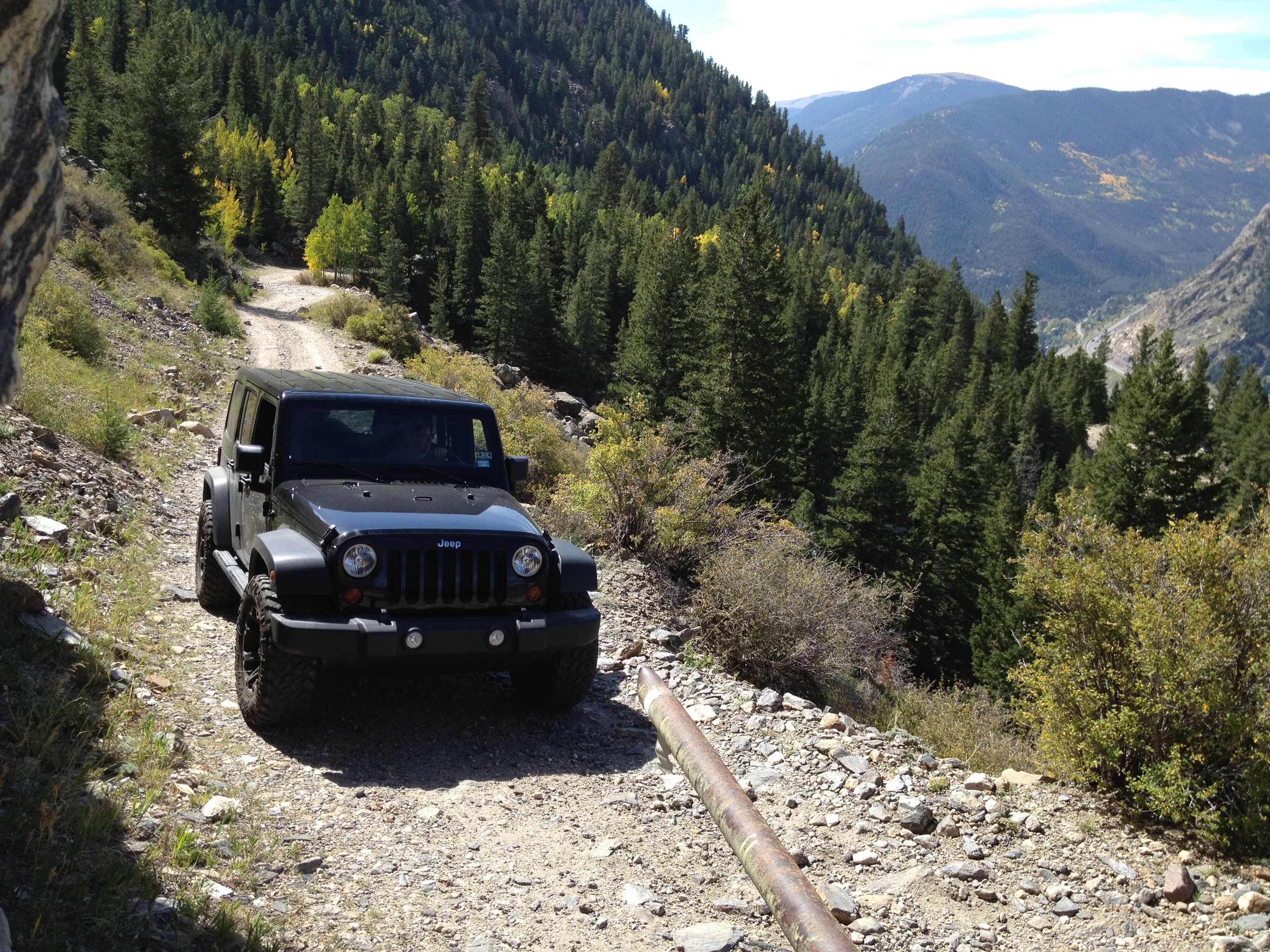 Jeep Trails Saxon Mountain Jeep Trail Georgetown Colorado Evergreen
