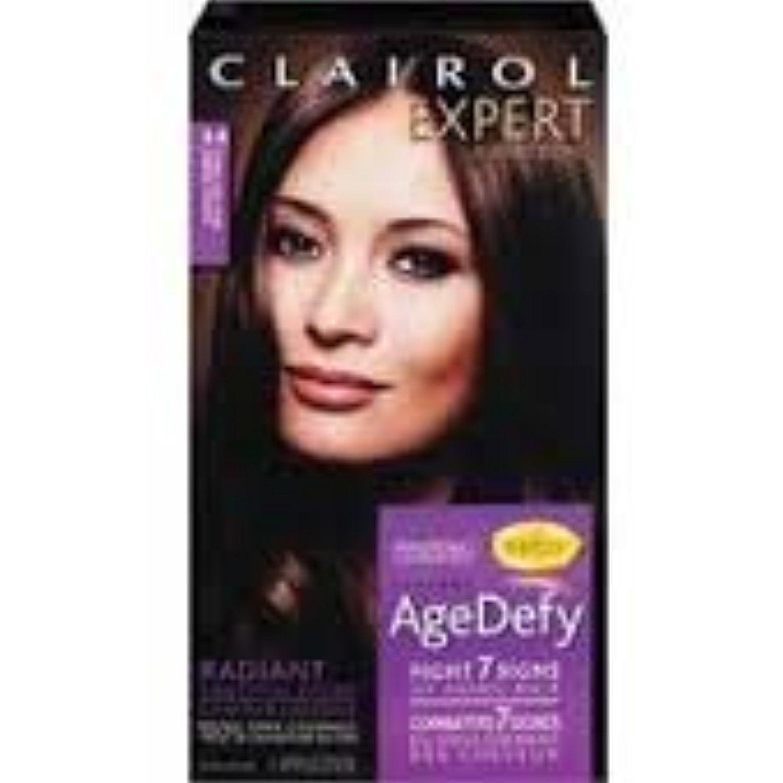 Clairol age defy drk brwn size kit clairol age defy darkest brown