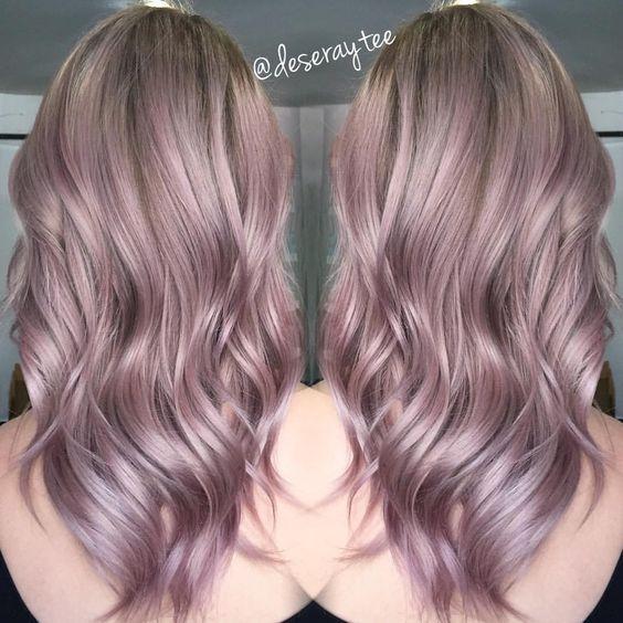 Resultado De Imagen Para Balayage Pastel Short Hair Belleza