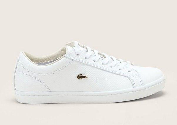 Sneakers Lacoste Blanches Baskets Footwear Cuir En Femme Texturé g76bfyY