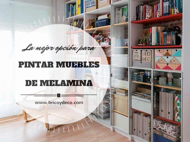 La mejor opci n para pintar muebles de melamina guias for Como pintar un mueble de melamina