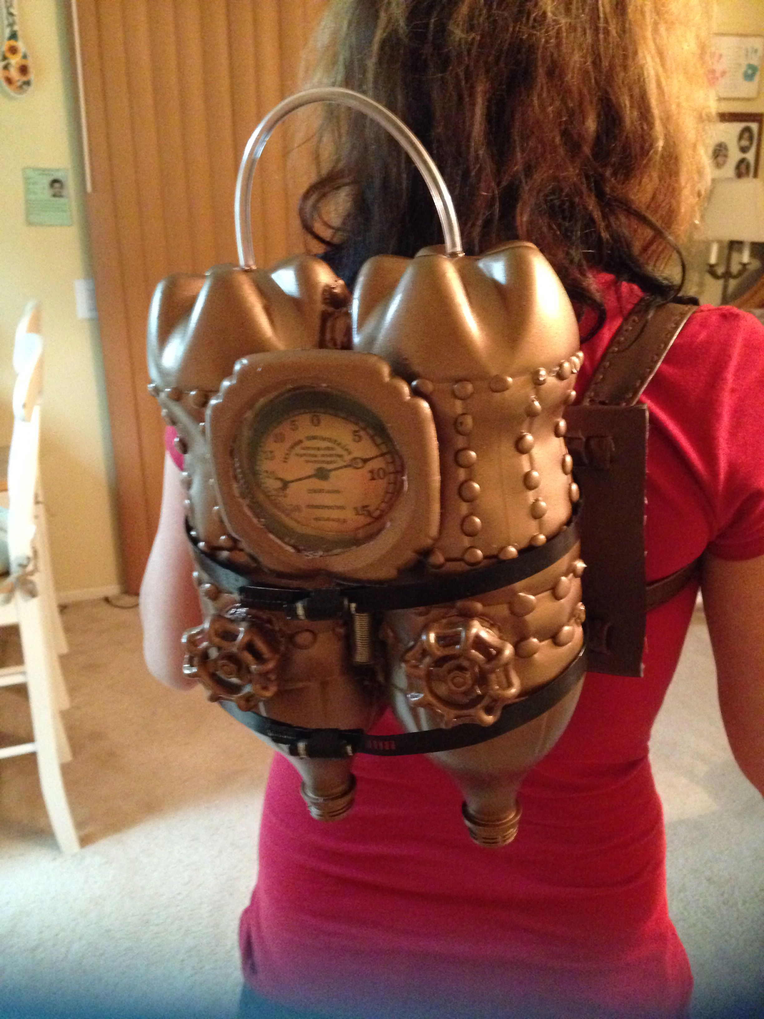 Here Is My Jet Pack That I Made For My Lady Steampunk Time