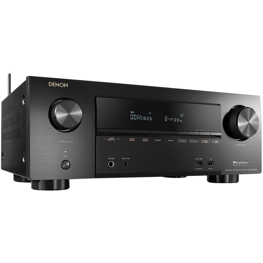 Denon In Command Series Avr X2500h Streaming Media Player