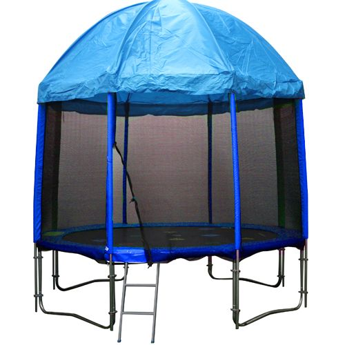 10ft Trampoline With Trampoline Tent Cover Circus Design Backyard Trampoline 10ft Trampoline Trampoline Tent Cover