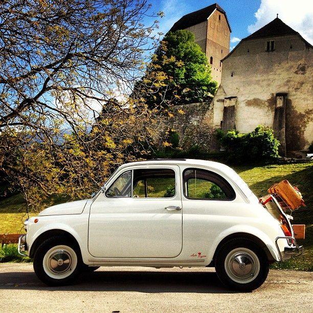Fiat 500, cute!