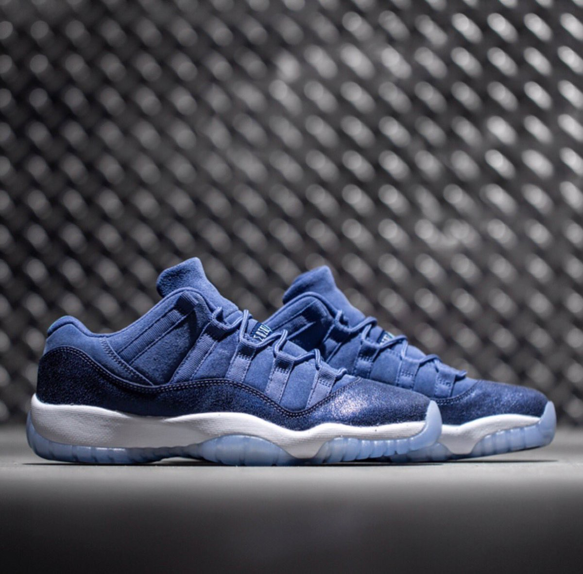 "46e7e45ad51 Air Jordan 11 Low GG ""Blue Moon"" releases on 4/22 =>>bit.ly/1XjulJD ..."
