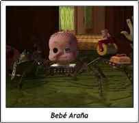 Bebe Arana Spider Baby Mutant Toys Toy Story Pixar John