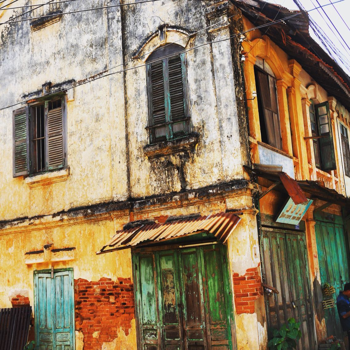 Abandoned Buildings In Savannakhet, Lao
