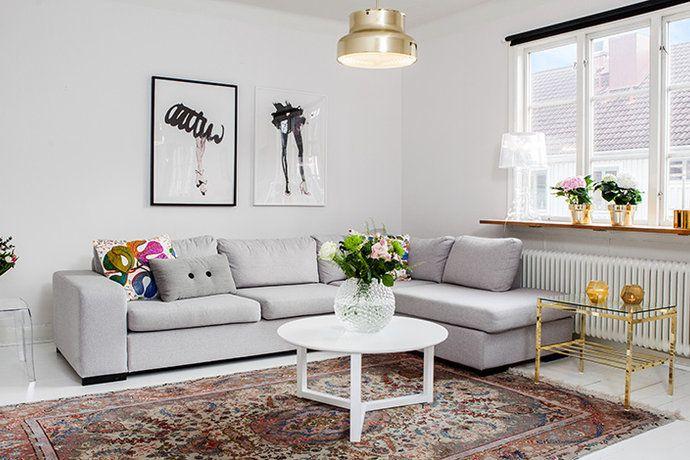 17 bästa bilder om Grått vardagsrum på Pinterest | Inredning, Grå ... : vardagsrum guld : Vardagsrum