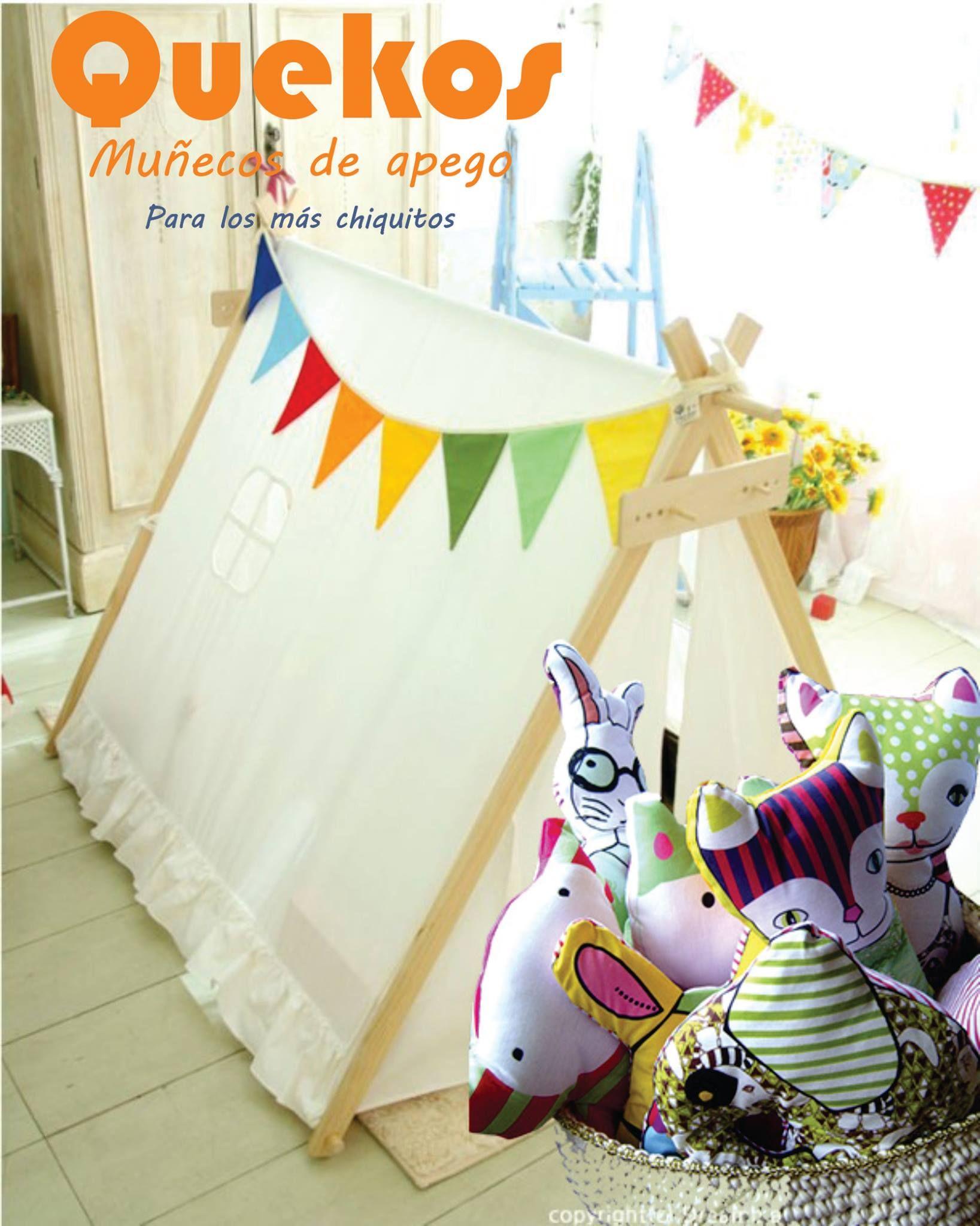 Para jugar o para decorar la habitación de los más pequeños (y no tantos, también!)
