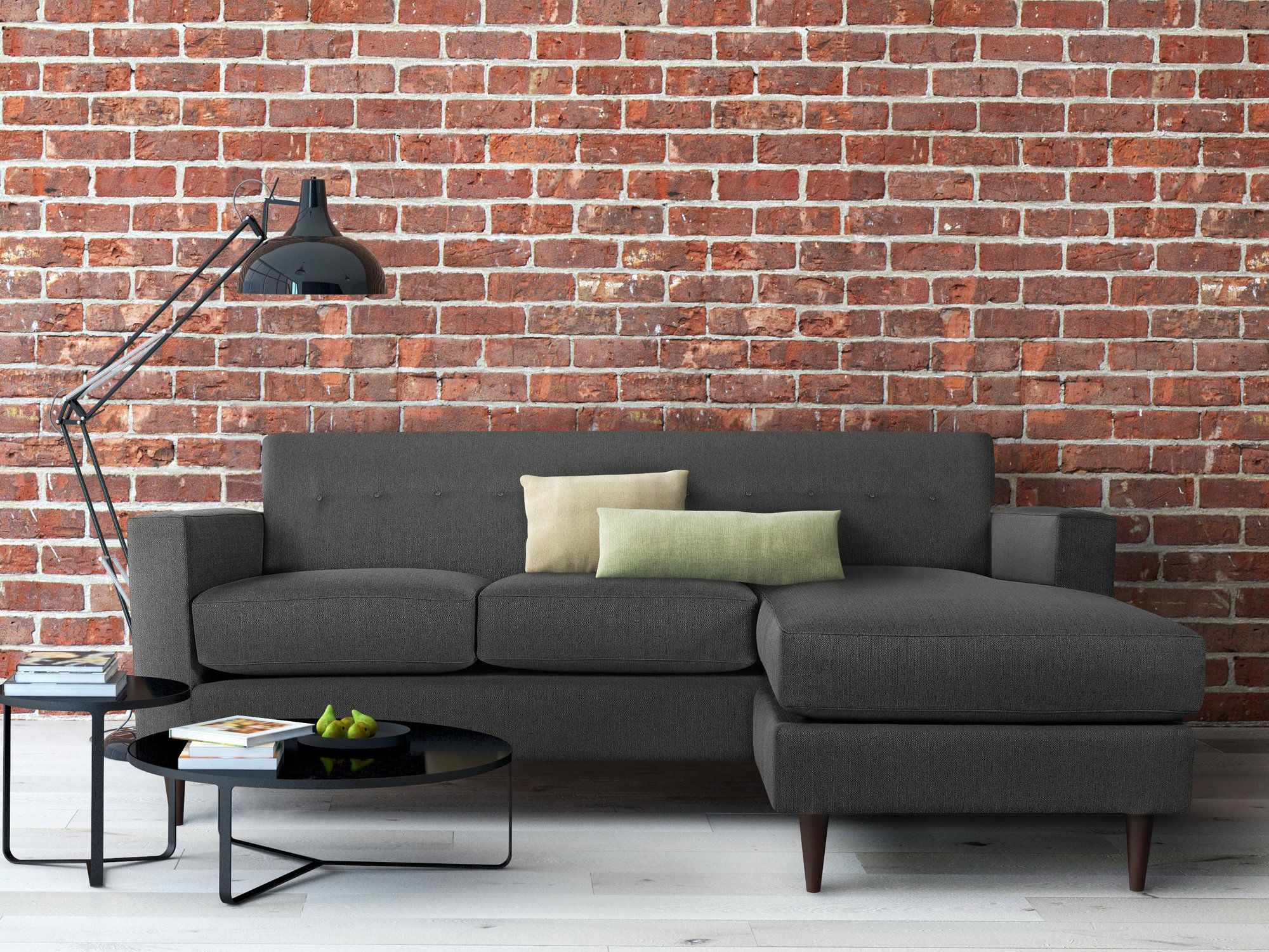 Ancha Reversible Chaise Sectional Products Pinterest
