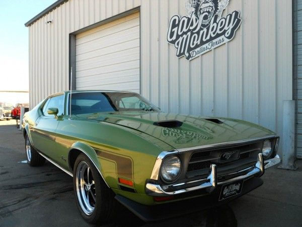1972 Ford Mustang Gas Monkey Ford Mustang Ford Gt Gas Monkey