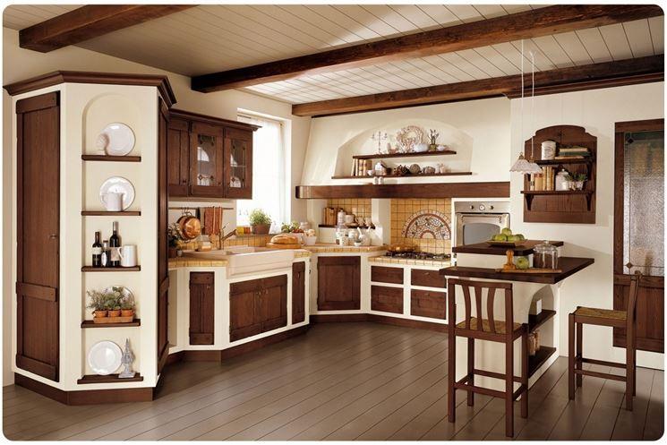 Come costruire una cucina in muratura | Kitchen | Pinterest | Cucina ...