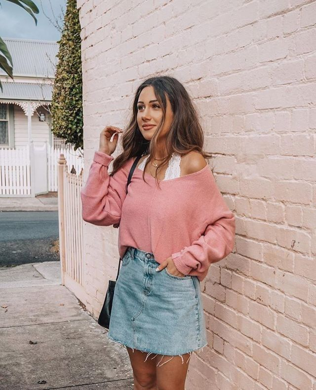 Stunning 40 Favorite Spring School Outfits 2019 /... ,   Makeup