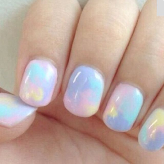 Beautiful Pastel Colors Nails Fashion Makeup And Hair Pantonecontest