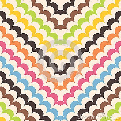 Chevron scales background pattern