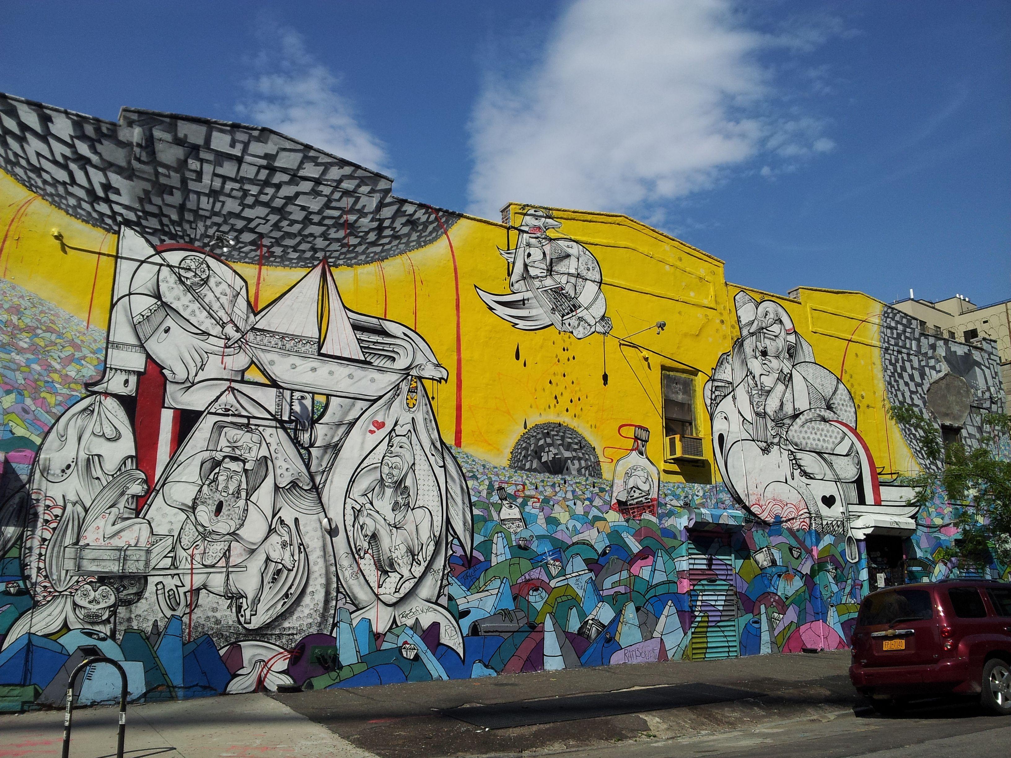 rrobots_street_art_brooklyn | Street Art | Pinterest | Street art ...