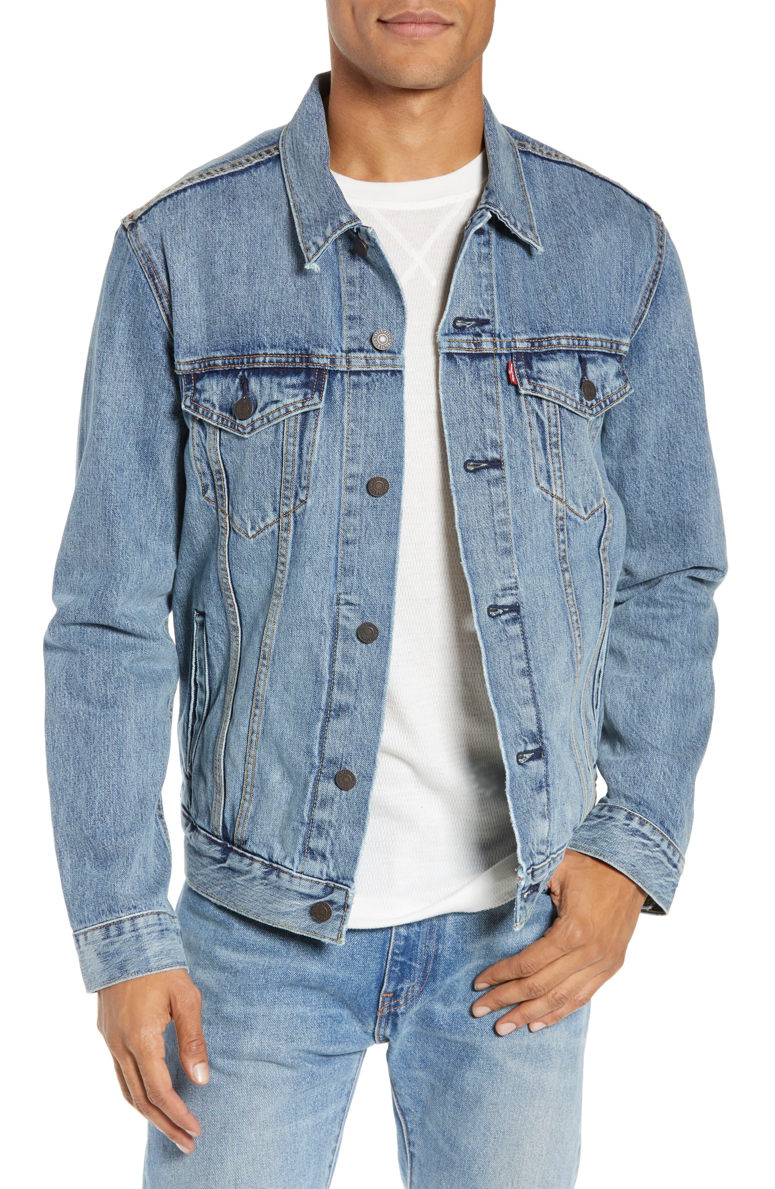 Levi's® Denim Trucker Jacket (Icy in 2019 | Denim jacket men