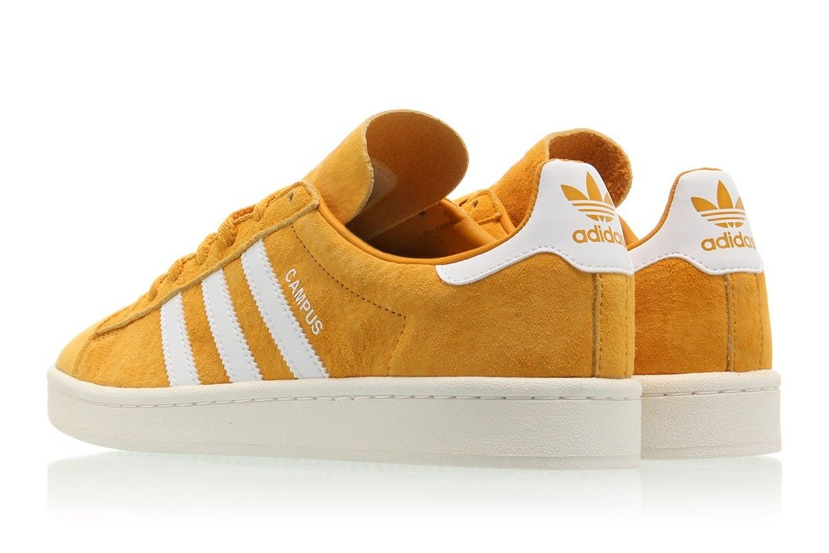 42a7735c9c7 Discount adidas Campus Tactile Yellow Footwear White BZ0088 -  nicestylebay.com
