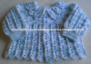 Ola amigas ! Casaquinho decrochêpara bebe.   Desse modelo já tem alguns no blog   A Receita também está disponibilizada no Picasa   Essa...