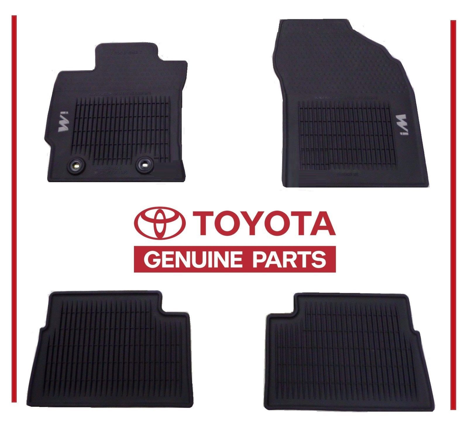 Nice Awesome Toyota Scion Corolla Im 2016 2017 All Weather Floor Mats Awm Genuine Oem Oe 2017 2018 Check More At Http 24auto Tk Toyota Toyota Scion Corolla