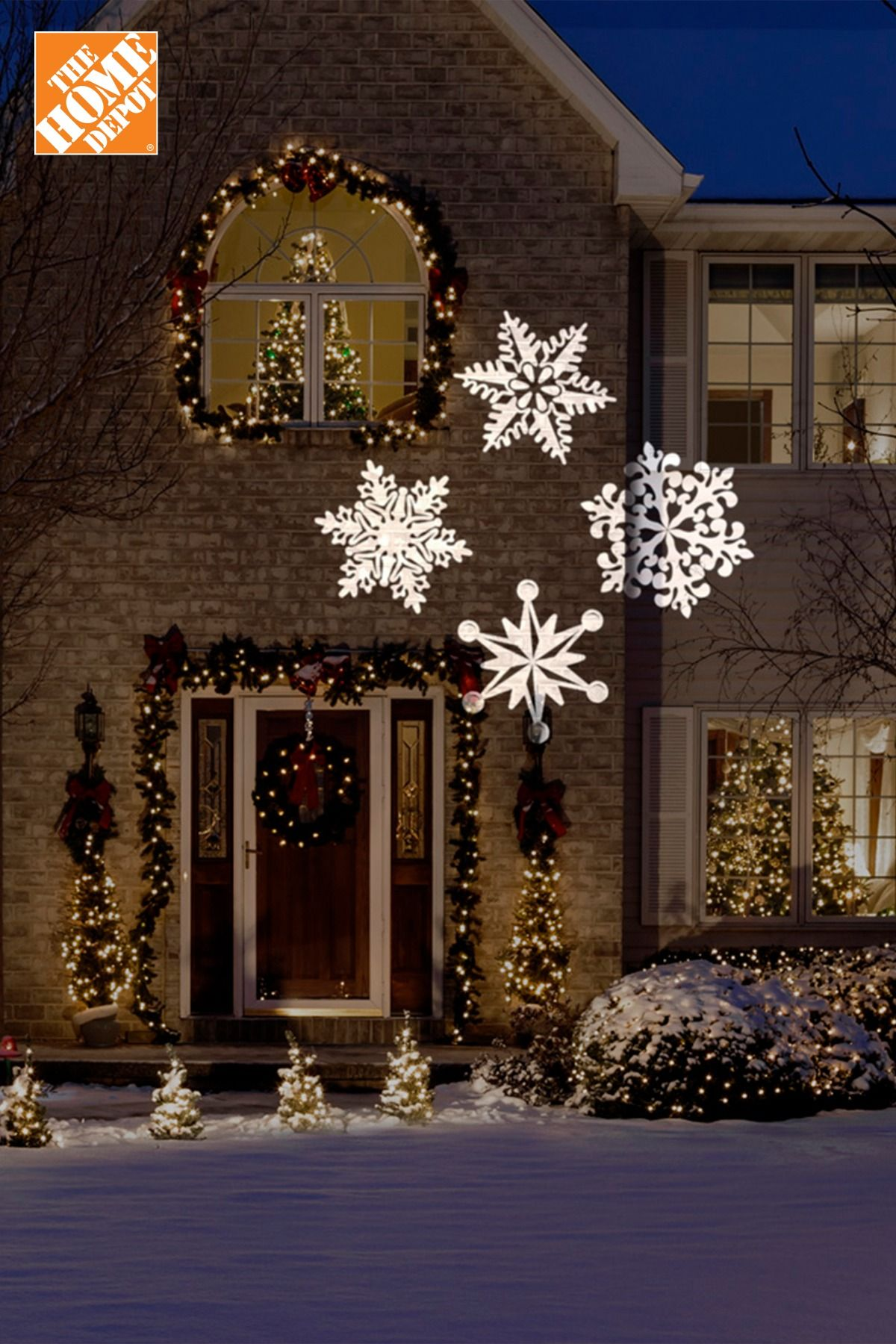 Christmas lights go a long way in setting the festive mood ...