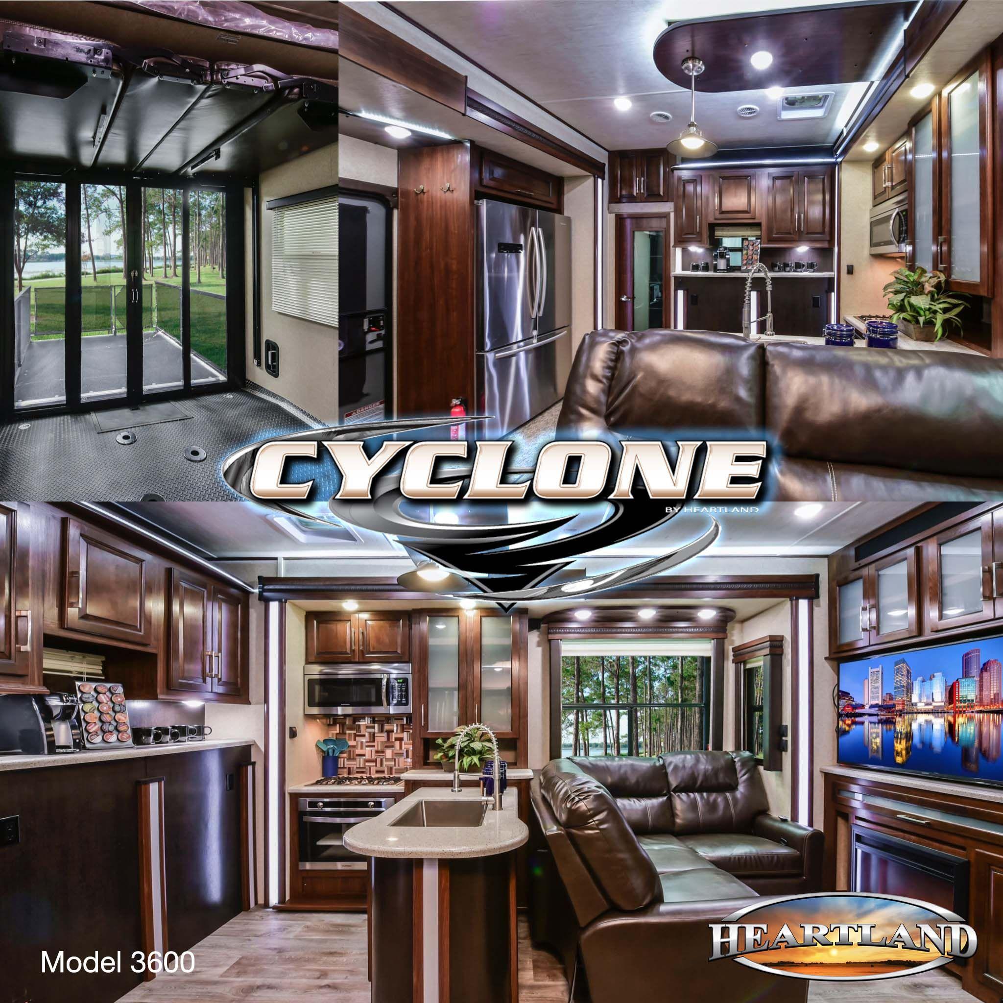 Toy Hauler Floor Plans: CY 3600 - Take 3D Tour