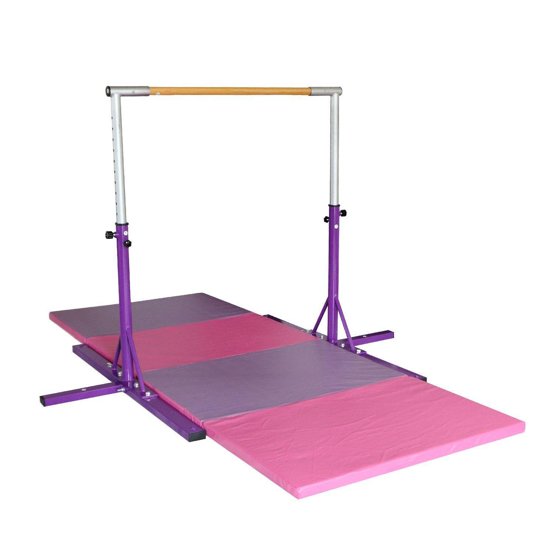 Bestmart Inc Purple Adjustable 35 Gymnastics Junior Training Bar