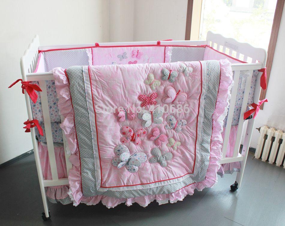 Butterfly Baby Quilt Kits Elegant Princess Baby Crib
