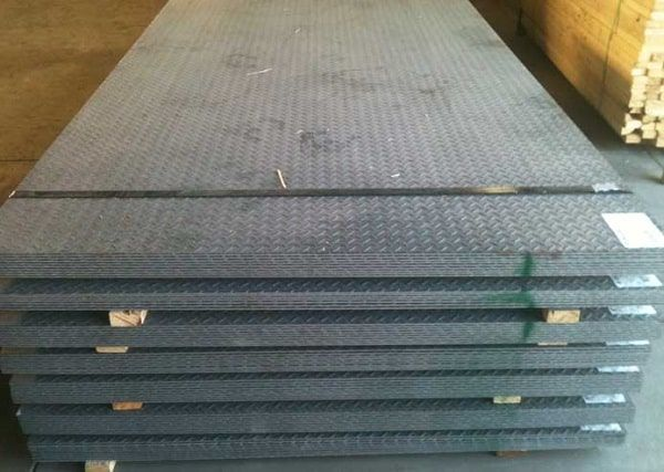 Applications of abrasive steel plate