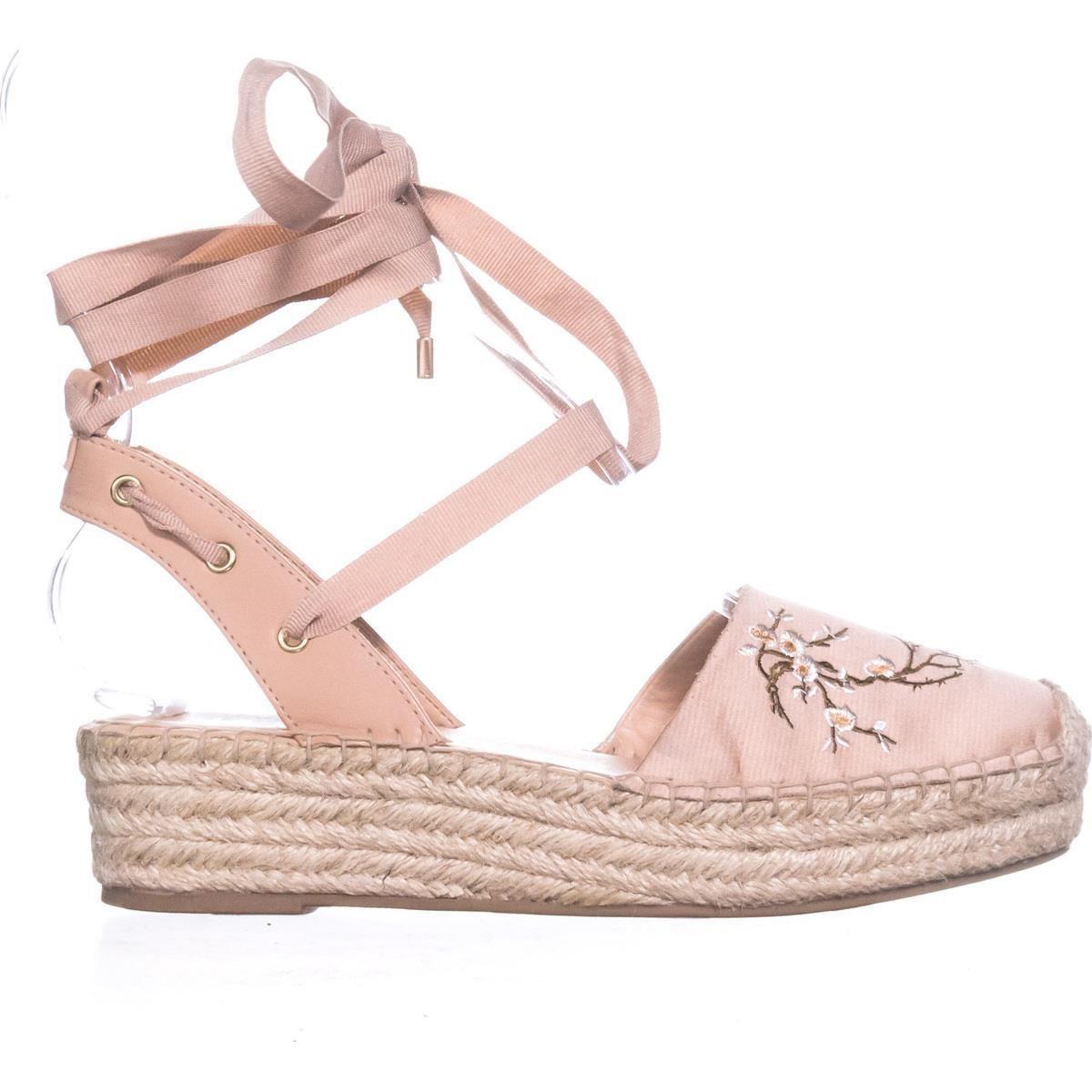 8f0f8b9897e Nanette Lepore Beatriz Espadrille Wedge Sandals Blush 7 US  sandals  flat   espadrilles  platforms  blush  spring  springoutfits  casualsummeroutfits   summer ...