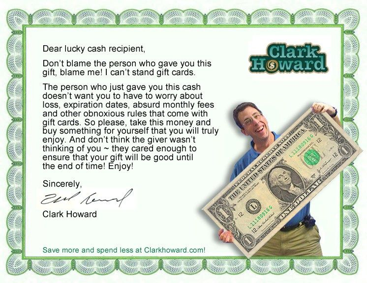Clarks nogiftcard gift certificate clark cant stand