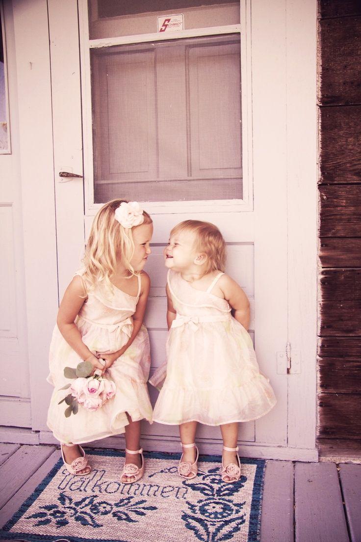 WAY too cute!! Photo by Eileen. #WeddingPhotographerMinnesota #Kids ...