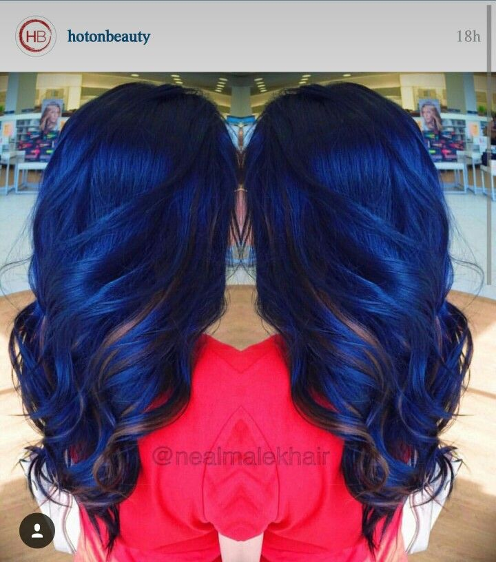 Blue And Rose Gold With Images Hair Styles Hair Inspiration