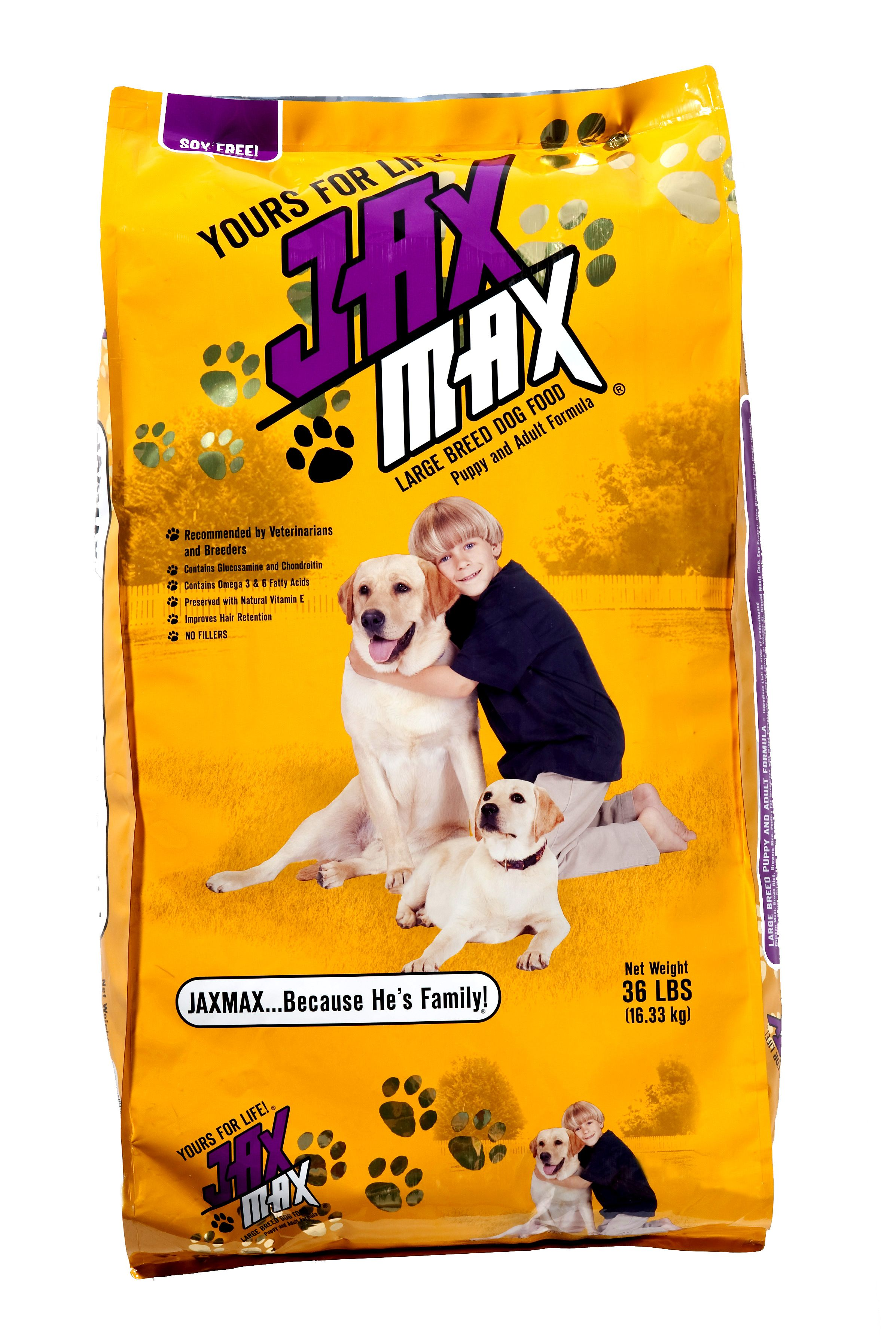 Jaxmax Dog Food Is Designed To Meet The High Demands Of An Active