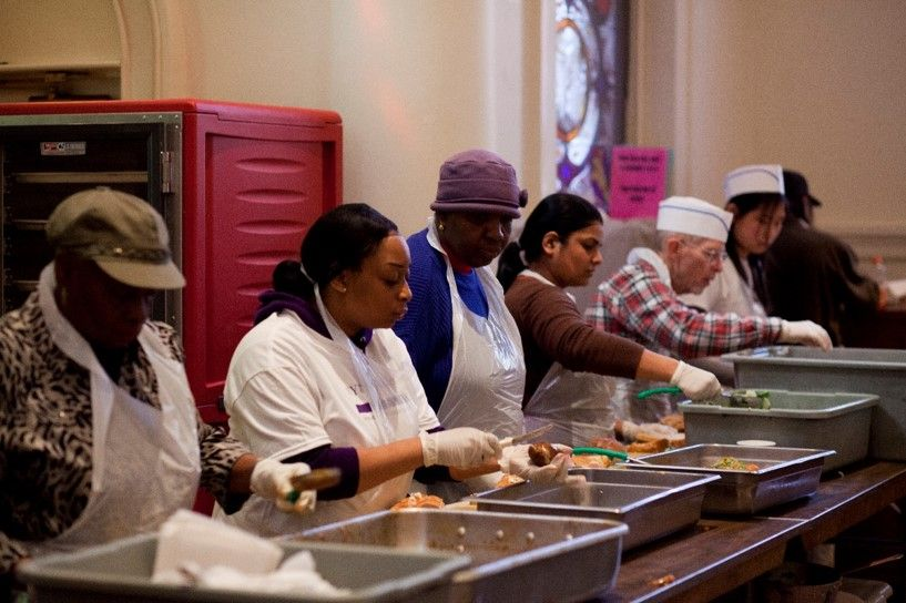 From Greeting People To Serving Food It Is Our Volunteers Who Enable Us To Be Here For Our Guests Ever Soup Kitchen Volunteer Soup Kitchen Food Bank Volunteer