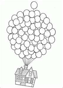 house from the movie up coloring page  disney coloring pages printable coloring pages