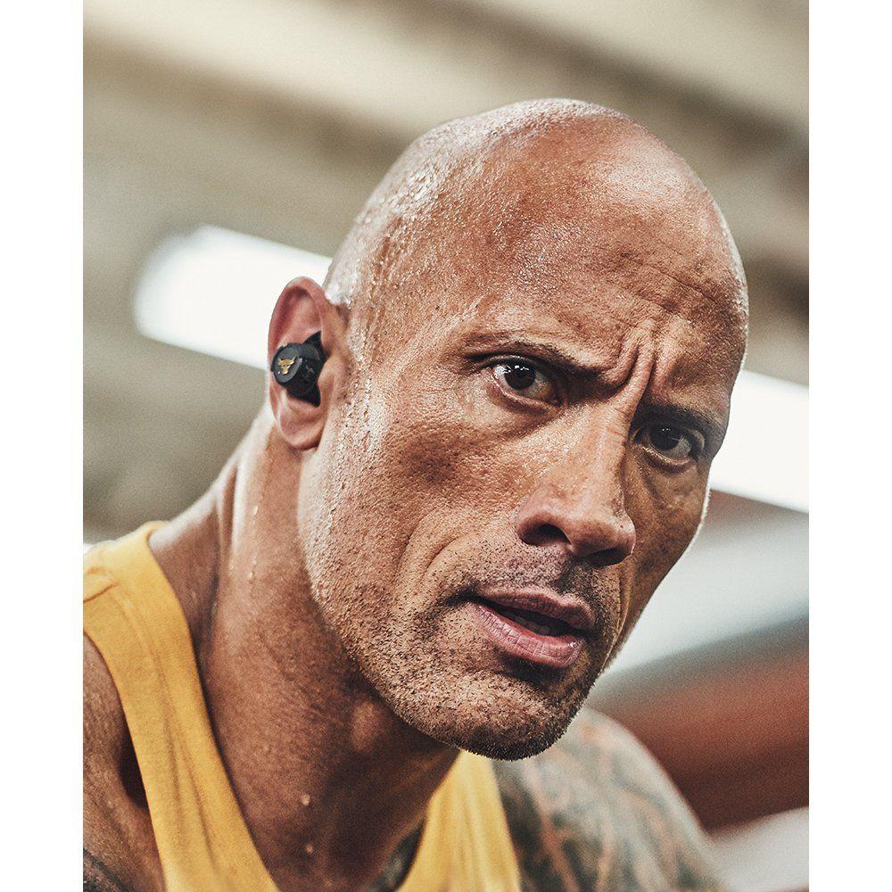 True Wireless Earbuds Project Rock Edition In 2020 Dwayne Johnson Dwayne The Rock Wireless In Ear Headphones