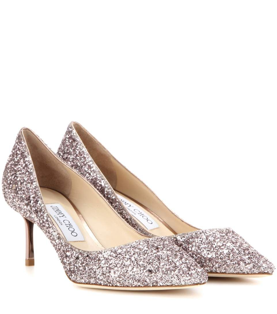 JIMMY CHOO. Neutral Party DressesGlitter PumpsSparkles GlitterWedding ShoesLuxury  FashionJimmy ChooHeelWeddingsPumping. Shop Romy 60 ...