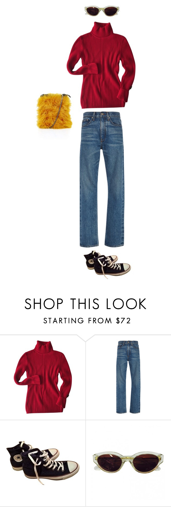 """""""Untitled #7015"""" by dreamer-in-paris ❤ liked on Polyvore featuring Bogner, Brock Collection, Converse, RetroSuperFuture and Topshop"""